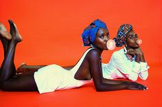 Our melanin will always make us marvelous... Just imagine what that sea of sisterhood would look like. Magic! Alexandra Elle  Creative Direction: Folasade Adeoso Headwraps: 1953 Collection by Folasade Models: Folasade and Ronyca Photography: Dexter R. Jones by lovefola