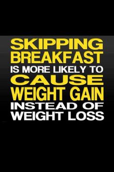 ViSalus has you covered with Vi-Crunch or A Vi-Shape Shake. You no longer have to skip breakfast! http://Imleanin90days.com