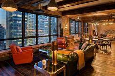 뉴욕 억만장자의 최고급 펜트하우스 인테리어 : 네이버 포스트