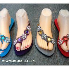 7872b6a0e5cb new women slippers sandals beads handmade