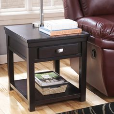 Signature Designs by Ashley Hatsuko Espresso End Table | Overstock™ Shopping - Great Deals on Signature Design by Ashley Coffee, Sofa & End ...