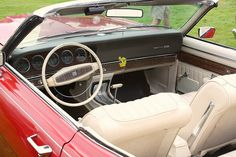 1969 Mercury Montego MX, Interior/dash