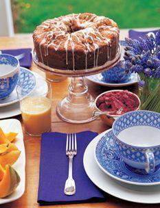 Barefoot Contessa - Recipes - Sour Cream Coffee Cake