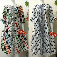 Tunik Parang Ukuran: allsize Lingkar Dada /- 98-100cm resleting depan aman buat… Batik Blazer, Blouse Batik, Batik Dress, African Print Fashion, Ethnic Fashion, Batik Parang, Mode Batik, Simple Dresses, Pretty Dresses