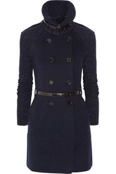 Burberry London Cardi-coat. I have no idea when I'd wear this, but it's adorable!