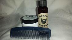 Adirondacks Beard Oil Conditioner + Beard Balm + Comb for Men #Adirondacks