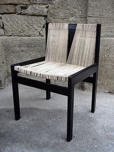 Haussmann Robert and Trix 1951 chair Schnursthul (col. Vintage Furniture, Furniture Design, Contemporary Design, Dining Bench, Chair, Modern, Home Decor, Dining Room Bench, Trendy Tree