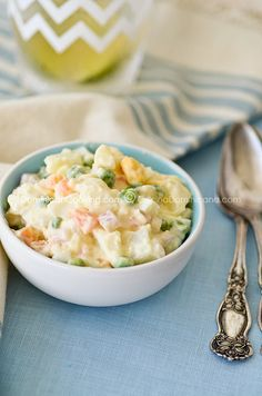 "Ensalada rusa (""Russian"" potato salad)"