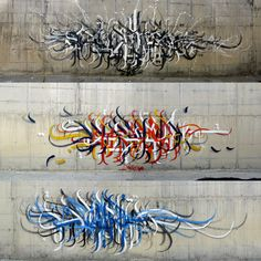 Arab graffiti - WOW! American kids need to brush up on their tagging skillz!!