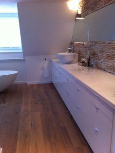 Wastafelmeubel Badkamer, Sink Bathroom, steenstrips