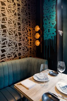 If you combine fine French dining, art deco, and a bohemian twist, you have Bibo, a newish restaurant focusing on street and contemporary art in Hong Kong.