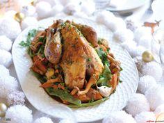 Pintade de Noël aux saveurs orientales - Safran Gourmand