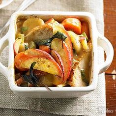Turkey-Vegetable Casserole A medley of fork-tender veggies and homestyle gravy join turkey in this comforting casserole recipe.