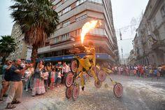 "Espectáculo ""KLIMATOLOKOS"" en Itineranta 2014 - Pontevedra"