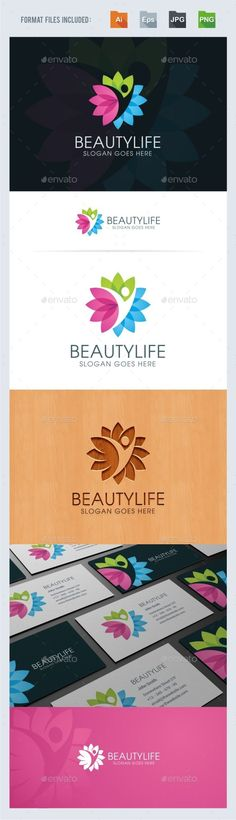 Beauty Life Logo Template Vector EPS, AI. Download here: http://graphicriver.net/item/beauty-life-logo-template/14676264?ref=ksioks