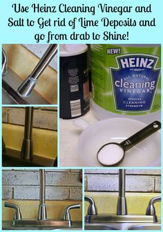 Heinz Cleaning Vinegar get rid of Lime  Cupcakes and Crinoline