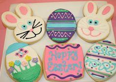 Country Cupboard Cookies Blog: Easter Cookies Decorated