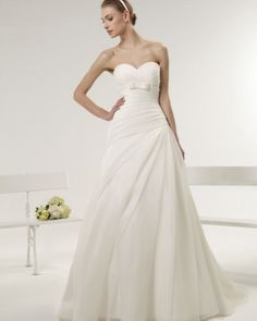 Coleção Aire Barcelona Vintage 2014 - Vestidos de Noiva | #casarcomgosto