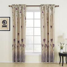 IYUEGO Floral Polyester Purple Blackout Rod Pocket Curtai... http://www.amazon.com/dp/B00ZLPJ3MU/ref=cm_sw_r_pi_dp_TU4oxb16RBRM9