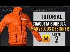 Tutorial chaqueta burbuja en Marvelous Designer ::: Parte 2 - YouTube