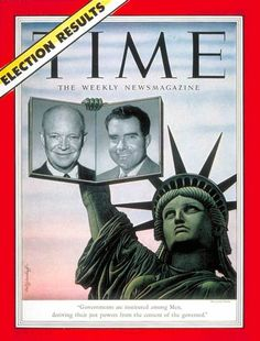 TIME Magazine Cover: Dwight D. Eisenhower and Richard M. Nixon -- Nov. 10, 1952
