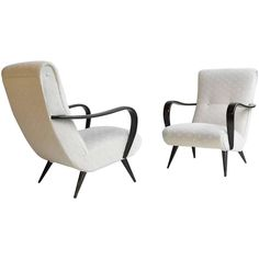 Pair of Lounge Chairs by De Ster, The Netherlands, 1960s For Sale at 1stdibs