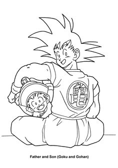 All Dragon Ball Z Coloring Pages