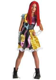 Tween Sally of Nightmare Before Christmas Halloween Costume