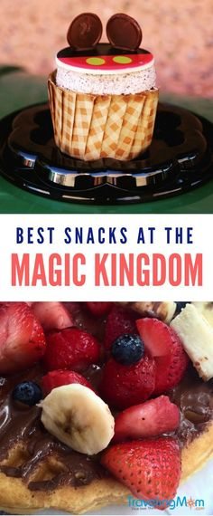 There are tons of Magic Kingdom snacks to choose from in Walt Disney World. How do you know where to begin? We've got the Top 10 Magic Kingdom snacks to put on your must-try list for your next vacation. We also chat about the best use of snack credits if you're on a Disney Dining Plan, and whether the plans are right for you. #MagicKingdom #Disney #TravelTips