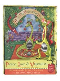 Peace, Love & Vegetables Gift Set
