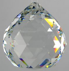 clear ball crystal prism, the very first on I received that started my collection of prism.