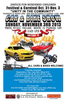 Viva Las Vegas Car Show Flyer Car Show Ideas Pinterest Cars - Car and bike show flyer template