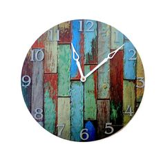 Cottage Chic Wall Clock Home Decor Decor and by Shannybeebo, $62.00