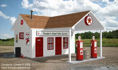 BEAUTIFUL OLD GAS STATIONS