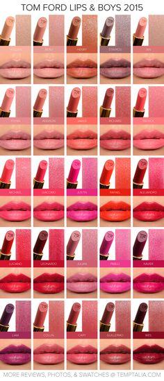 Tom Ford Lips & Boys 2015