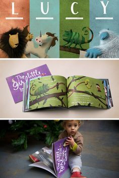 Lucy met a Lion, Unicorn, Chameleon and Yeti in her magical Lost My Name adventure. Who will you meet on yours?  Personalised books for children where their name is the story - a perfect gift to celebrate a birthday!
