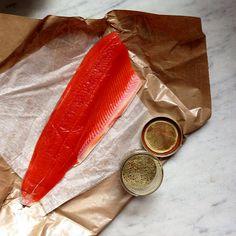 Zatar Cured Salmon