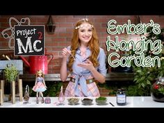 Project Mc² | Ember Evergreen Hanging Garden Experiment + Doll | Cast Unboxing: Belle Shouse - YouTube