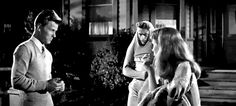 Some attitude from Jimmy James Dean, Richard Davalos and Julie Harris in East of Eden (Elia Kazan, 1955)