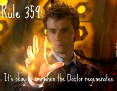 Not Some New Man: The Hidden Pattern Behind the Doctor's Regenerations.  Really fun and completely geeky article.  Love it!