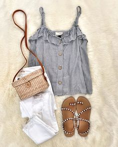 Best Casual Summer Outfits Part 21 Casual Summer Outfits, Spring Outfits, Trendy Outfits, Cute Outfits, Fashion Outfits, Fashion Trends, Fashion Games, Short Outfits, Womens Fashion