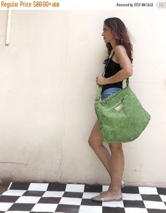 Check out this item in my Etsy shop https://www.etsy.com/il-en/listing/449001088/summer-sale-green-crossbody-bag-for