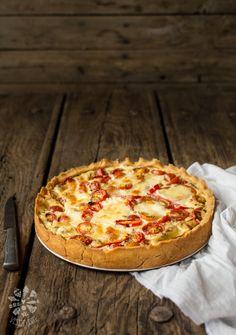 Glutenfree cherry tomatoe tart