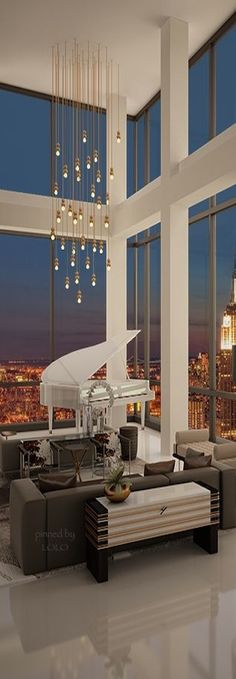 Trump Soho Presidential Penthouse | Via ✤ LadyLuxury✤