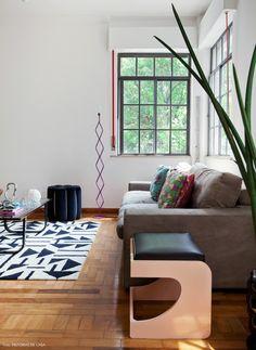 Confira a decor única e charmosa desse apartamento em Higienópolis, com objetos cheio de memória.