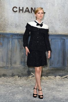Clémence Poésy in Chanel