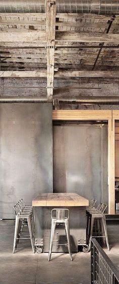 Decoración de cocina, diseño industrial