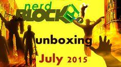 Nerd Block Unboxing - July 2015 Humanity's Last Hope