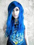 Leda- Blue Hair by ~LedaMonsterBunnyLove on deviantART