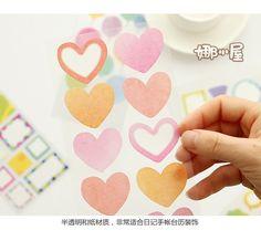 日本正品MW和纸装饰贴纸可书写可爱便利贴DIY相册日记手帐贴纸-淘宝网全球站